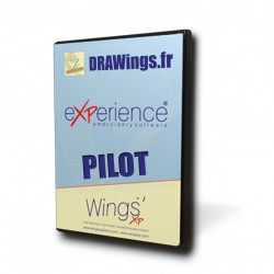 Logiciel de broderie Wings' eXPerience Pilot