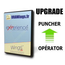 Mise à Niveau de Wings' eXPerience 6 Operator à Wings' eXPerience 6 Puncher