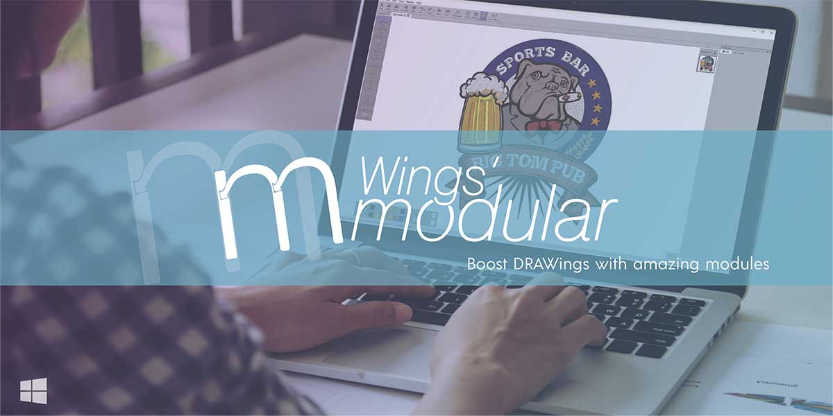 Wings' Modular Embroidery Software. digtizing in dst, hus, pes, vip, art format. Compatible Tajima, Barudan, Singer, Pfaff, Husqvarna embroidery machine. Wilcom, Pulse, Tajima DGML