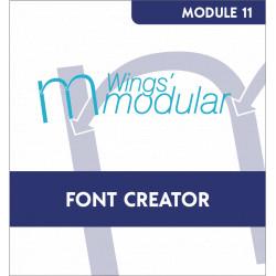 Module Font Creator
