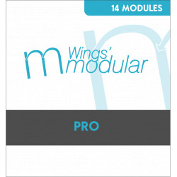 Wings Modular 6 - Pack PRO 14 Modules - Pour digitaliser à grande vitesse