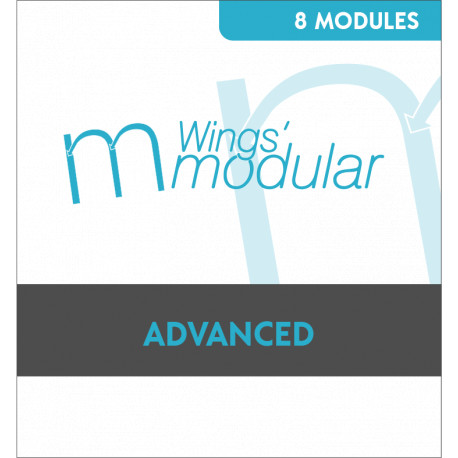 Wings Modular 6 - Pack PRO 14 Modules - Pour digitaliser à grande vitesse