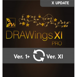 Update from your old DRAWings to DRAWings XI PRO