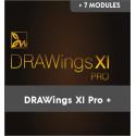 Drawings X PRO + 7 Modular Modules